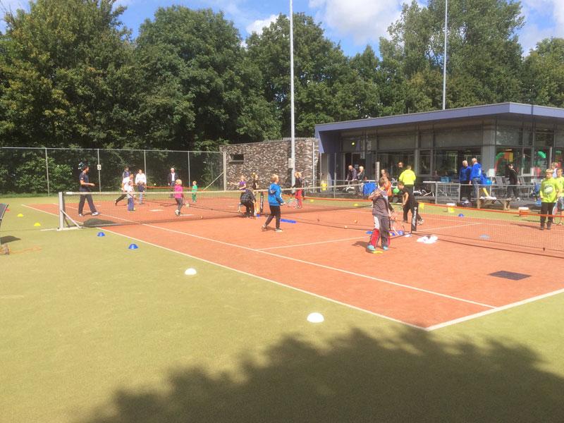 Tennisevenementen TennisFUN voor alle leeftijden